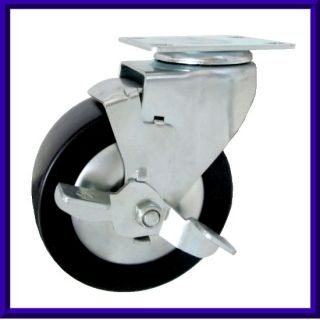 工具車輪-邊剎架